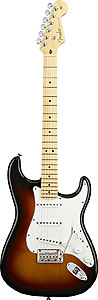 Fender American Standard Stratocaster - 3-Color Sunburst with Case - Maple [0113002700]