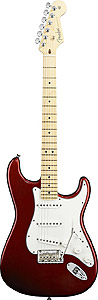 American Standard Stratocaster - Candy Cola with Case - Maple