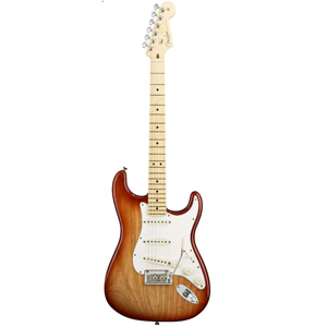 American Standard Stratocaster - Sienna Sunburst with Case - Maple