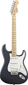 Fender American Standard Stratocaster - Charcoal Frost Metallic with Case - Maple [0113002769]