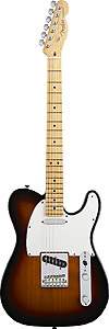 American Standard Telecaster® - 3-Color Sunburst with Case - Maple