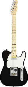 American Standard Telecaster® - Black with Case - Maple