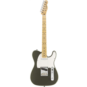American Standard Telecaster - Jade Pearl Metallic with Case - Maple