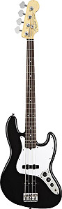American Standard Jazz Bass - Black with Case - Rosewood