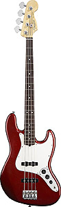 American Standard Jazz Bass - Candy Cola with Case - Rosewood
