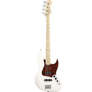 American Standard Jazz Bass - Olympic White
