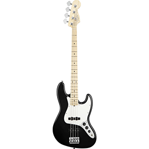 Fender American Standard Jazz Bass - Black with Case - Maple [0193702706]