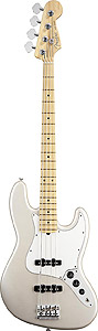 Fender American Standard Jazz Bass® - Blizzard Pearl with Case - Maple []