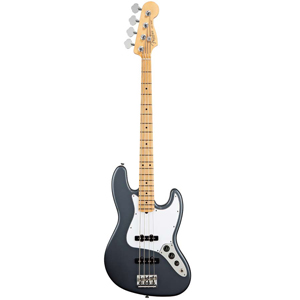American Standard Jazz Bass - Charcoal Frost Metallic with Case - Maple