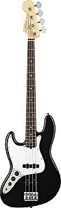 Fender American Standard Jazz Bass Left Handed - Black with Case - Rosewood [0193720706]
