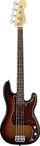 Fender American Standard P Bass - 3-Color Sunburst with Case - Rosewood [0193600700]