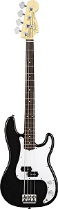 Fender American Standard P Bass - Black with Case - Rosewood [0193600706]