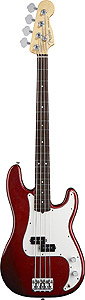 American Standard P Bass - Candy Cola with Case - Rosewood
