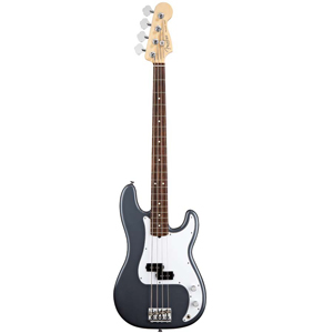 Fender American Standard P Bass - Charcoal Frost Metallic with Case - Rosewood [0193600769]