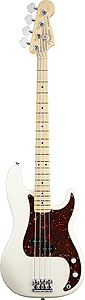 Fender American Standard P Bass® - Olympic White with Case - Maple
