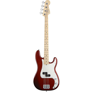 American Standard P Bass - Candy Cola with Case - Maple