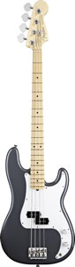 American Standard P Bass - Charcoal Frost Metallic with Case - Maple