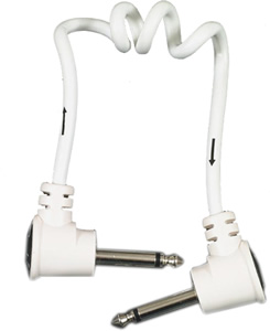Fender Koil Kord™ Cable - White 1 Foot [0990600001]