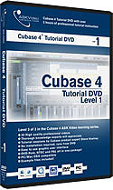 Ask Video Cubase 4 Tutorial DVD Level 1 [CUB4L1]