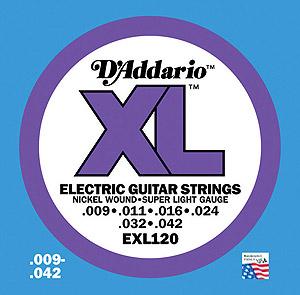 Daddario EXL120 [EXL120]