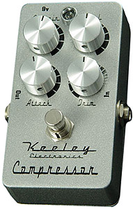 Keeley Compressor Plus - 4 Knob