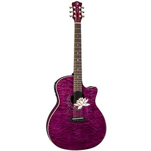 Luna Guitars Flora Series - Lotus