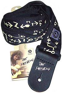 Planet Waves Pat Metheny Woven Guitar Strap Travels- 50PM01 [50PM01]