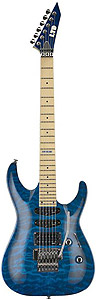 ESP LTD MH-103 - See-Thru Blue [LMH103QMSTB]