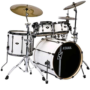 Superstar Hyper Drive 5-Piece Drum Kit - Sugar White