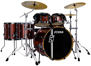 Superstar Hyper Drive 4-Piece Drum Kit - Copper Mist Metallic