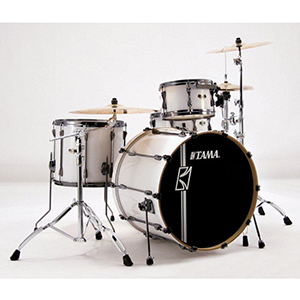 Tama Superstar Hyper Drive 4-Piece Drum Kit - Sugar White [SK44HZBN]