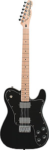 Vintage Modified Telecaster Custom - Black - Maple
