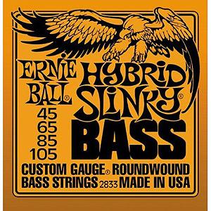 Ernie Ball 2833 Bass Hybrid Slinky Round Wound