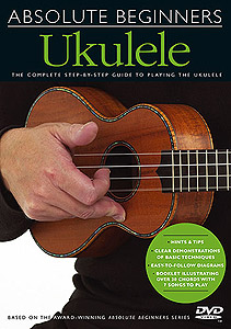 Music Sales Absolute Beginners: Ukulele (DVD)