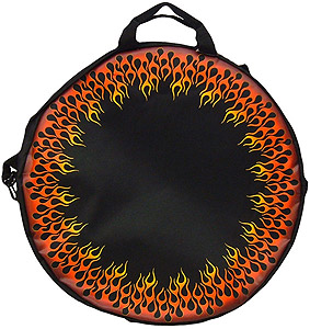 Kaces Grafix Cymbal Bag - Ring of Fire [KAC-GXCMB-FL002]