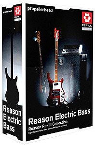 Propellerhead Reason Electric Bass ReFill [991010012]