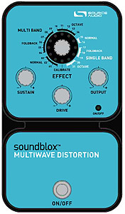 Source Audio Soundblox Multiwave Distortion [SA120]