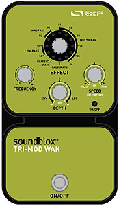 Source Audio Soundblox Tri-Mod Wah [SA121]