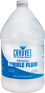 Chauvet DJ Bubble Fluid - Gallon [BJ-U]