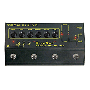 Tech21 SansAmp Bass Driver Deluxe