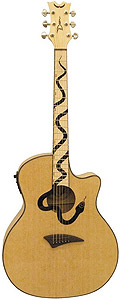 Dean Mamba Guitar - Natural []