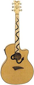 Mamba Guitar - Natural