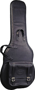 Levys LM18 Premium Leather Electric Guitar Bag [LM18BLK]