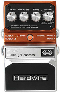 DL-8 Stereo Delay and Looper