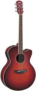 Yamaha CPX500 - Dark Red Burst [CPX500 DRB]