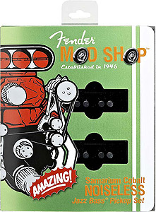 Fender Jazz Bass® Pickups - Set of 2 SCN  [0992134000]