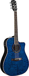 Fender T-Bucket  300 CE - Transparent Blue [0968005020]