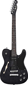 Fender JA-90 Telecaster® Thinline - Ebony Transparent [0262350539]
