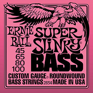 2834 Bass Super Slinky Round Wound