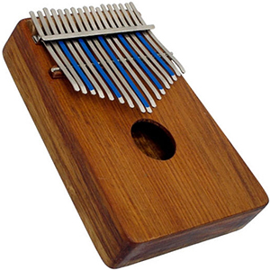 Treble Kalimba with Internal Mic Pickup